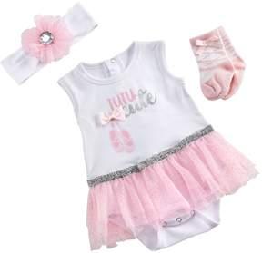 Baby Aspen My First Ballerina 3-Piece Tutu Outfit