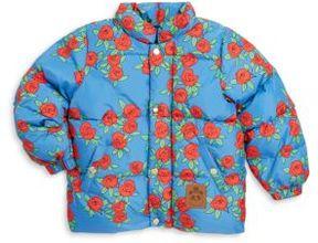 Mini Rodini Baby's, Toddler's, Little Girl's & Girl's Rose Puffy Jacket