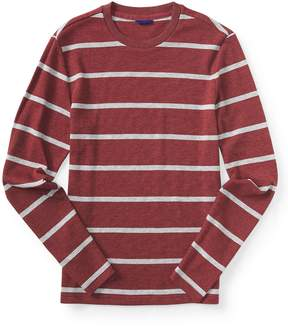 Aeropostale Final Sale- Long Sleeve Striped Thermal Tee
