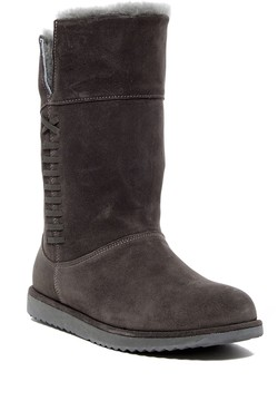 Emu Sandy Bay Foldover Sheepskin Lined Waterproof Boot
