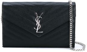Saint Laurent 'Monogram' crossbody bag - BLACK - STYLE