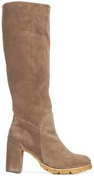Silvano Sassetti ridged sole mid-calf boots