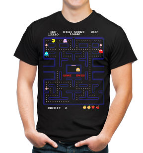 JCPenney Novelty T-Shirts Pac-Man Graphic Tee