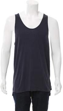 R 13 Sleeveless Woven T-Shirt