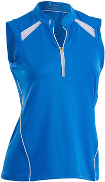 Asstd National Brand Nancy Lopez Golf Sporty Sleeveless Polo