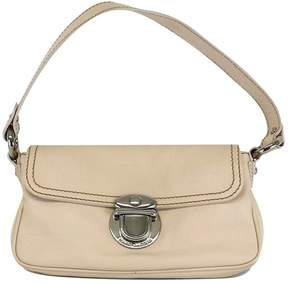 Marc Jacobs Cream Leather Handbag - CREAM - STYLE