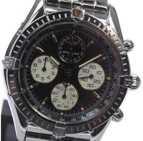Breitling Cockpit Airborne A33012 Stainless Steel Black Dial Automatic 37mm Men