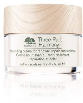 Origins Three-Part Harmony(TM) Nourishing Cream For Renewal, Repair & Radiance