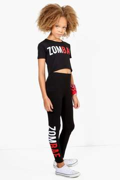 boohoo Girls Zombae Crop Top
