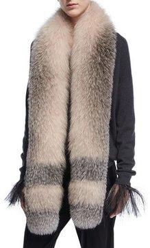 Brunello Cucinelli Dégradé Fox Fur Stole