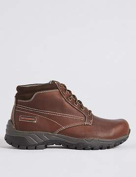 Marks and Spencer Leather Lace-up Storm Gibson Boots