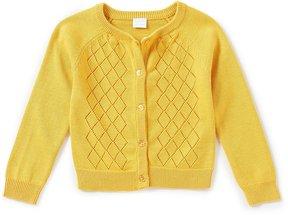 Edgehill Collection Little Girls 2T-6X Long-Sleeve Cardigan Sweater