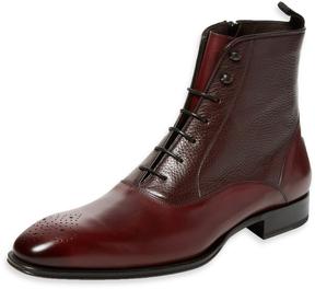 Mezlan Men's Narrow-Toe Leather Boot