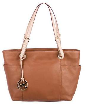 MICHAEL Michael Kors Grained Leather Tote