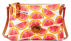 Dooney & Bourke Pomelo Crossbody Pouchette Shoulder Bag - WHITE - STYLE
