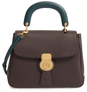 Burberry Dk88 Leather Satchel - Brown - BROWN - STYLE