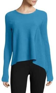 Derek Lam Solid Asymmetric Pullover