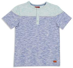 7 For All Mankind Boys' Color-Block Henley Tee - Big Kid