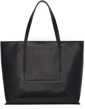 Rick Owens Black Big Shopper Tote Bag