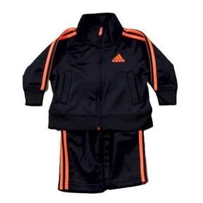 adidas InfantToddler Boy's Impact Track Pant & Jacket 2-Piece Black Set Sz. 3T