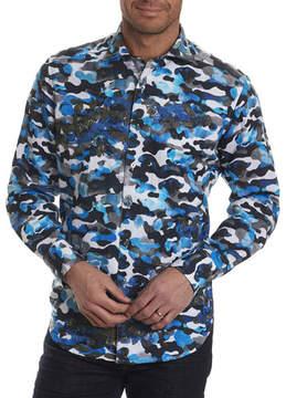 Robert Graham Limited Edition Camouflage Sport Shirt