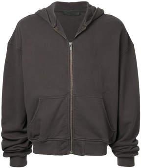 Haider Ackermann relaxed zip-up hoodie