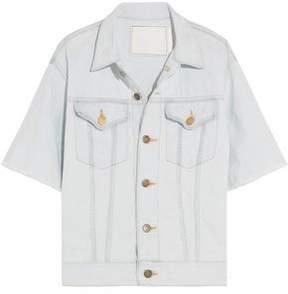 Bassike Frayed Denim Jacket