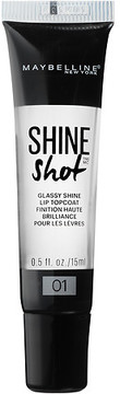 Maybelline Shine Shot Glassy Shine Lip Top Coat Clear Vinyl
