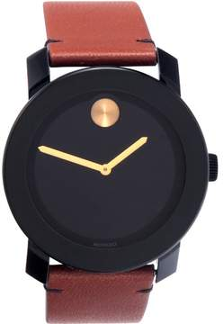 Movado Bold Black Museum Dial Men's Watch 3600305