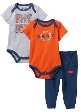 DKNY The New NYC Jogger Set (Baby Boys 0-9M)