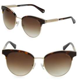 Balmain 55MM Clubmaster Sunglasses