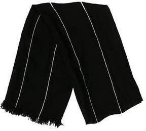 John Varvatos Striped Wool Scarf w/ Tags