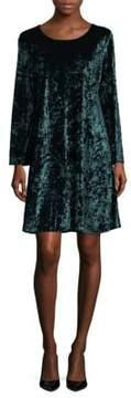 Context Velvet Sheath Dress