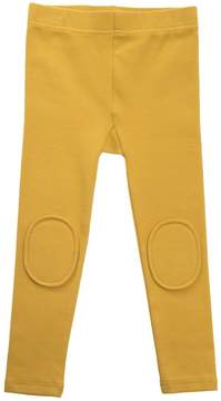 Rock Your Baby Mustard Kneepatch Leggings
