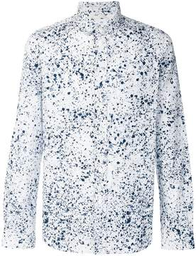 Paul Smith splatter print shirt