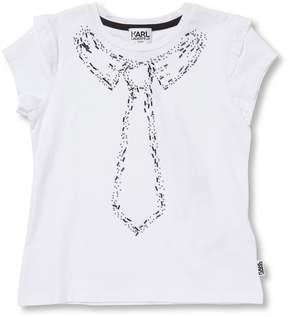 Karl Lagerfeld Girl's Beaded T-Shirt