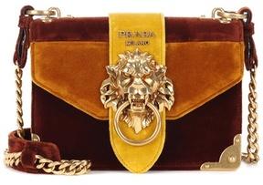 Prada Velvet shoulder bag