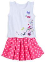 Disney Minnie Mouse Skirt Set for Girls