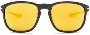 Oakley Men's Enduro Rectangle Plastic Frame Sunglasses