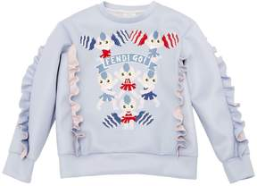 Fendi Cheer Printed Doubled Jersey Sweatshirt