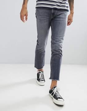 Lee Slim Rider Jeans with Fray Hem