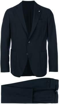 Lardini slim-fit tailored suit