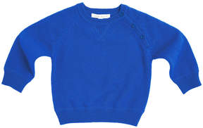 Marie Chantal Baby Boy Royal Blue Cashmere Sweater