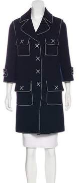 Andrew Gn Wool Knee-Length Coat