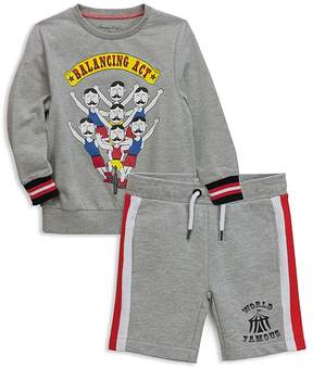 Sovereign Code Boys' Circus-Themed Sweatshirt & Shorts Set, Baby - 100% Exclusive