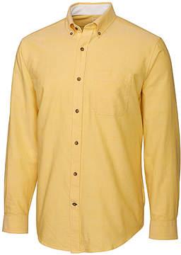 Cutter & Buck Yellow Long-Sleeve Oxford Shirt - Men