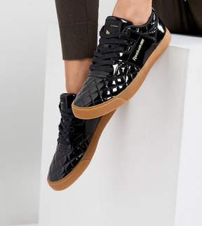 Asos x Reebok Workout FVS Sneakers In Patent