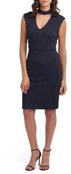 ECI Women's Choker Sheath Dress