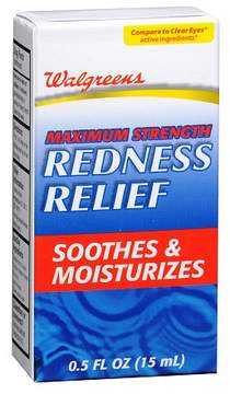 Walgreens Eye Redness Relief Drops