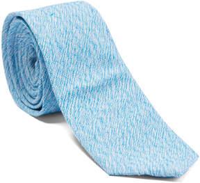 Isaac Mizrahi Aqua Linen Tie